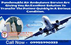 Advantage to Get the Panchmukhi Air Ambulance Service in Delhi