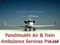 Best Medical Services in Panchmukhi Air Ambulance in Bhopal