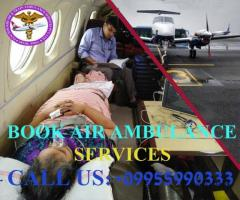 Excellent Medical Support in Panchmukhi Air Ambulance in Jamshedpur