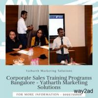 Corporate Sales Training Programs Bangalore - Yatharth Marketing Solutions