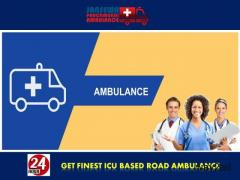Get Extremely Advanced Road Ambulance Service in Purulia Road