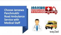 Take Advantage of Ambulance Service in Dhanbad with Life-Saving Medical Care