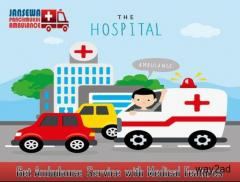 Use Ambulance Service in Bokaro with ICU Medical Facility