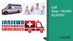 Pick Ambulance Service in Gumla with Life-Saving Medical Equipments