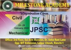 JPSC AE & BPSC AE exam preparations by Milestone Academy, Ranchi