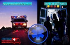 Book Ambulance Service in Phulwari Sharif with Advanced Amenities
