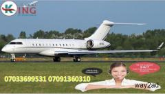King Air Ambulance Service in Kolkata: Low Cost Emergency Solution