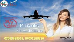 King Air Ambulance Service in Dibrugarh: the Medical support