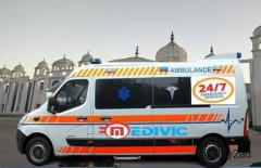 Best and Very Low Cost Medivic Ambulance in Ranchi