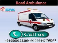 Obtain Road Ambulance Service in Ranchi