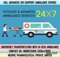 Select Superb Patient Rescue by Medivic Ambulance Service in Ranchi