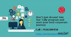 Don't just dream! Join Our Tally program and start your best corporate journey