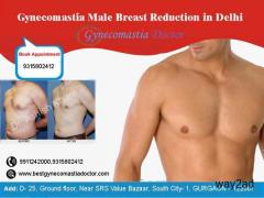Which is the best Male breast reduction surgery in Delhi