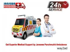 Choose Instantly Ambulance Service in Nehru Place at Anytime
