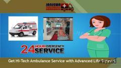Choose Upgraded Version of Ambulance Service in Dumka