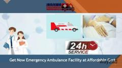 Select Ambulance Service in Sitamarhi with First-Class ICU Facility