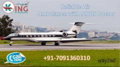Book Masterly Air Ambulance in Delhi with ICU Setup