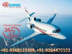 Take India Best Air Ambulance in Delhi by Medivic Aviation