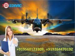 Take Medical Emergency Air Ambulance in Raipur