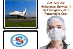 Pick Sky Air Ambulance Service in Port Blair with Full Medical Services