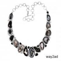 Buy wholesale black agate jewelry online