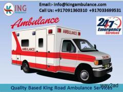 ICU Emergency Ambulance Service in Muzaffarpur by King