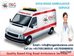 Now Shift Patient by King Road Ambulance Service in Gaya