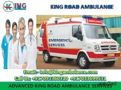 Now Pick King Ambulance Service in Ranchi with all Medical Amenities