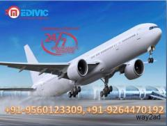Utilize Medical Facility Air Ambulance from Bangalore to Delhi with ICU