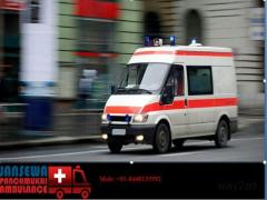 Hire a Highly Advanced Ambulance Service in Ramgarh Cantt