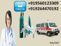 Call for Top and High Class Medivic Road Ambulance Service in Kurji