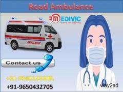 Top Class Road Ambulance Service in Punaichak,Patna by Medivic Ambulance