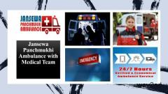 Call in the safest and best Ambulance Service in Vikash Nagar