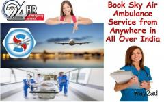 Book Air Ambulance Service in Delhi with Responsible Medical Team
