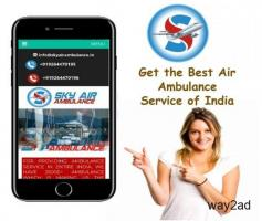Utilize Air Ambulance from Kolkata with Very Dedicated Medical Team