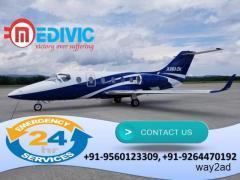 Get Remarkable Medical Facilities by Medivic Air Ambulance in Pantnagar