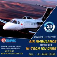 Utilize Prestigious Medivic Air Ambulance Services in Guwahati