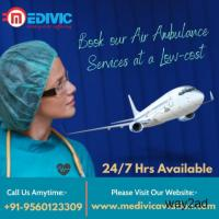 Medivic Air Ambulance Services in Kolkata with Round the Clock Medical Care