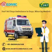 Medivic Road Ambulance Service in Gaya- Provides All Medical Facilities
