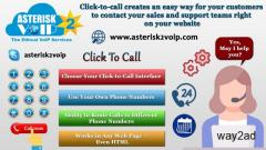 VoIP based Click-To-Call Service given by Asterisk2voip Technologies