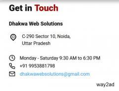 Website Development Company in Noida - Dhakwa Web Solutions