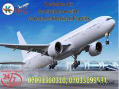Book Medical-Based Air Ambulance Service in Patna at Cheap Rate by King