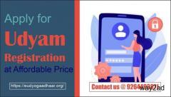 Apply for Udyam Registration at Affordable Price @ 9264493871