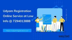 Apply for udyam Registration through the official portal @ 7294013888