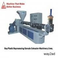 Buy Best Plastic Processing Machines | Call Now at: 91-731-2971234
