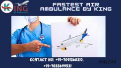 Safe Transfer by King Air Ambulance Service in Bangalore under Budget