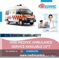 Safest Ambulance Service from Patna by Medivic Ambulance