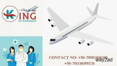 Fastest Ailing Shifting by King Air Ambulance Service in Delhi