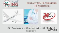 Take Enhanced Air Ambulance Service in Mumbai by King