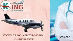 Outstanding Air Ambulance Service in Guwahati with Remedial Concern